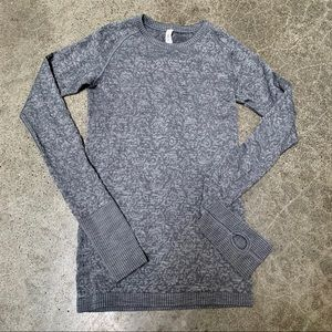 Lululemon Rest Less Pullover Heathered Gray 4